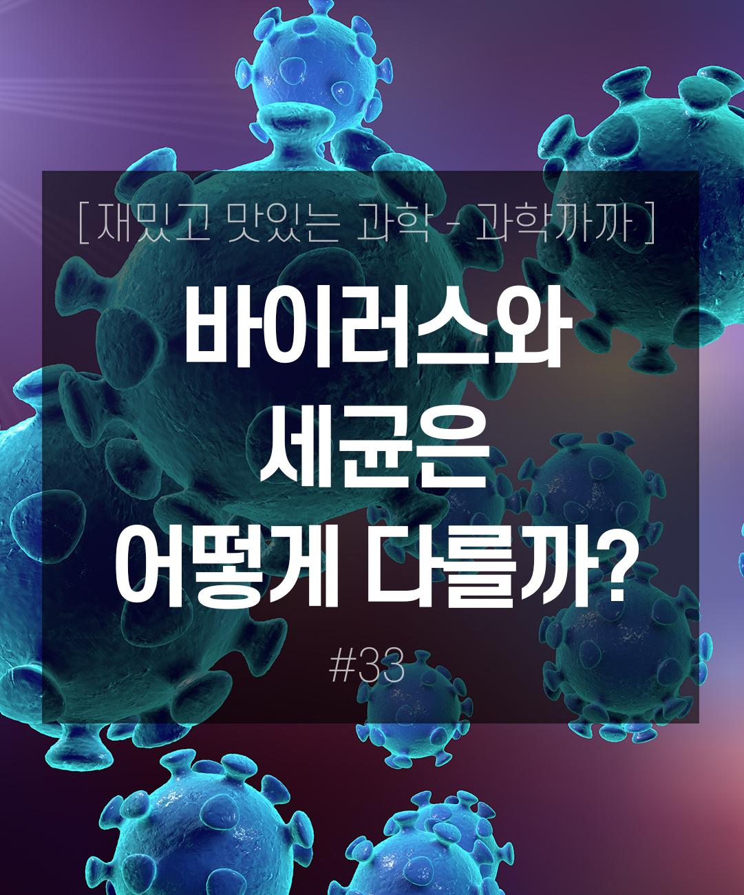 바이러스와 세균은 어떻게 다를까? 이미지