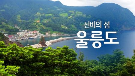 신비의 섬 '울릉도'