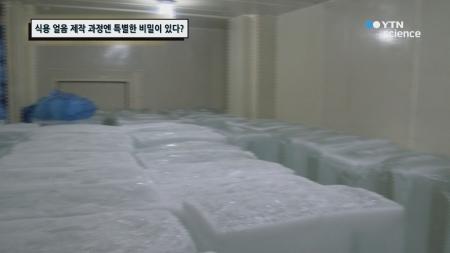 식용 얼음 제작 과정엔 특별한 비밀이 있다?