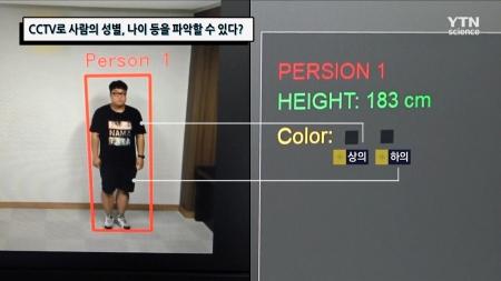 CCTV로 사람의 성별, 나이 등을 파악할 수 있다?