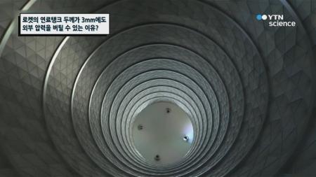 로켓의 연료탱크 두께가 3mm에도 외부 압력을 버틸 수 있는 이유?