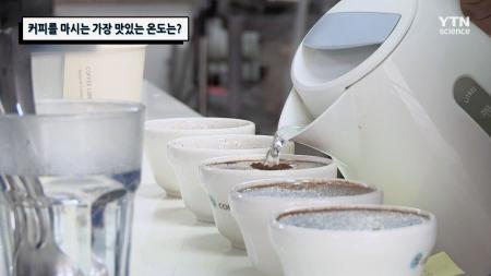 커피를 마시는 가장 맛있는 온도는?