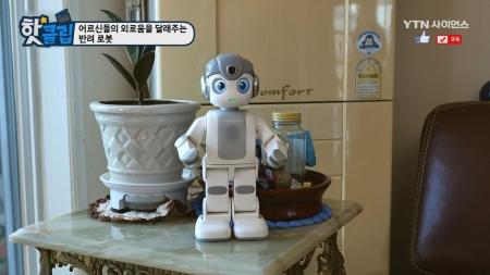어르신들의 외로움을 달래주는 반려 로봇