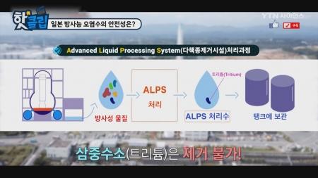 일본 방사능 오염수의 안전성은?